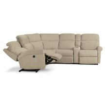 Davis Fabric Power Reclining Sectional
