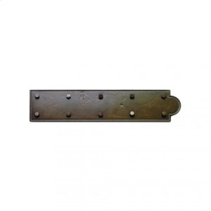 "Ornamental Hinge Strap - 18"" Silicon Bronze Brushed Product Image"