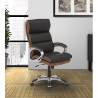 DC#203-DS - DESK CHAIR Fabric Desk Chair Product Image