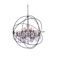 1130 Geneva Collection Pendent Lamp Dark Bronze Finish