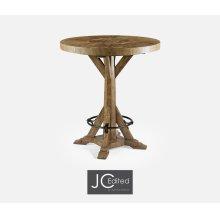 "36"" Medium Driftwood Bar Table"