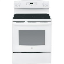 """GE® 30"""" Free-Standing Electric Range (This is a Stock Photo, actual unit (s) appearance may contain cosmetic blemishes. Please call store if you would like actual pictures). This unit carries our 6 month warranty, MANUFACTURER WARRANTY and REBATE NOT VALID with this item. ISI 34295"""