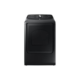 7.4 cu. ft. Electric Dryer with Steam Sanitize+ in Black Stainless Steel
