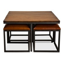 4 Stools Under The Table
