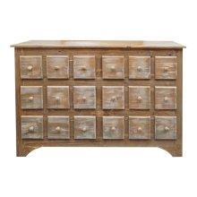 Slatted Color 6 Drw Dresser