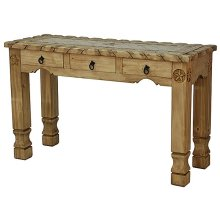 Sofa Table W/Rope,Stone&Star