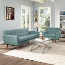 Engage Armchair and Sofa Set of 2 in Laguna Product Image