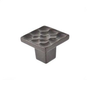 Oil Rubbed Bronze Pomegranate Square Knob 1 Inch Product Image