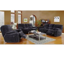 Ramsey Steel Gray Reclining Set, M6014