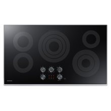 """36"""" Electric Cooktop in Stainless Steel"""