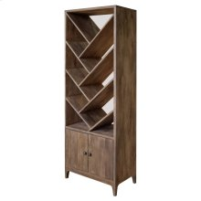 Bengal Manor Mango Wood Angled 2 Door Etagere