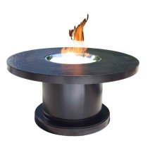 """Outdoor Fire Pit : Venice 48"""" Chat"""