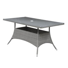 Emerald Home Ridgemonte Rect Umb Dining Table Od1104-10