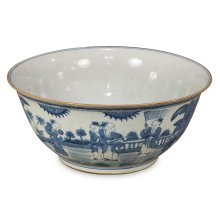 Blue & White Ceramic Bowl