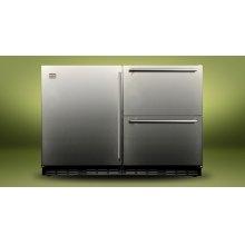 """Kalamazoo 48"""" Outdoor Refrigerator (1 Door + 2 Drawers)"""