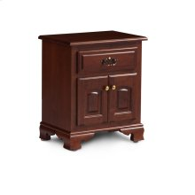 Classic Nightstand with Doors