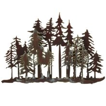 Small Layered Forest Wall Decor