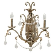 Swag Collection Two-Light Incandescent Sconce, Car