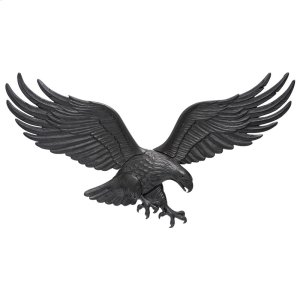 "36"" Wall Eagle - Black Product Image"