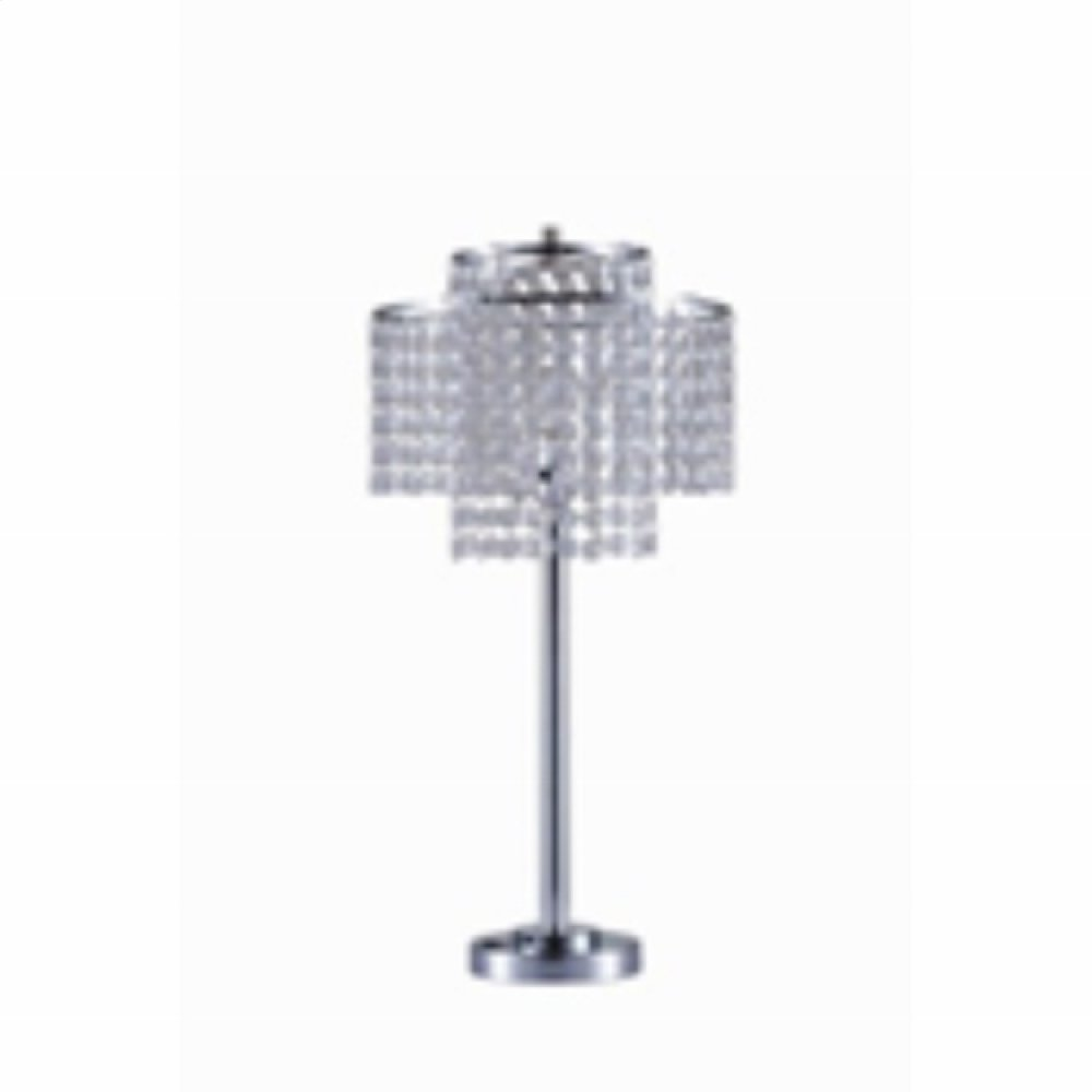Chrome Table Lamp