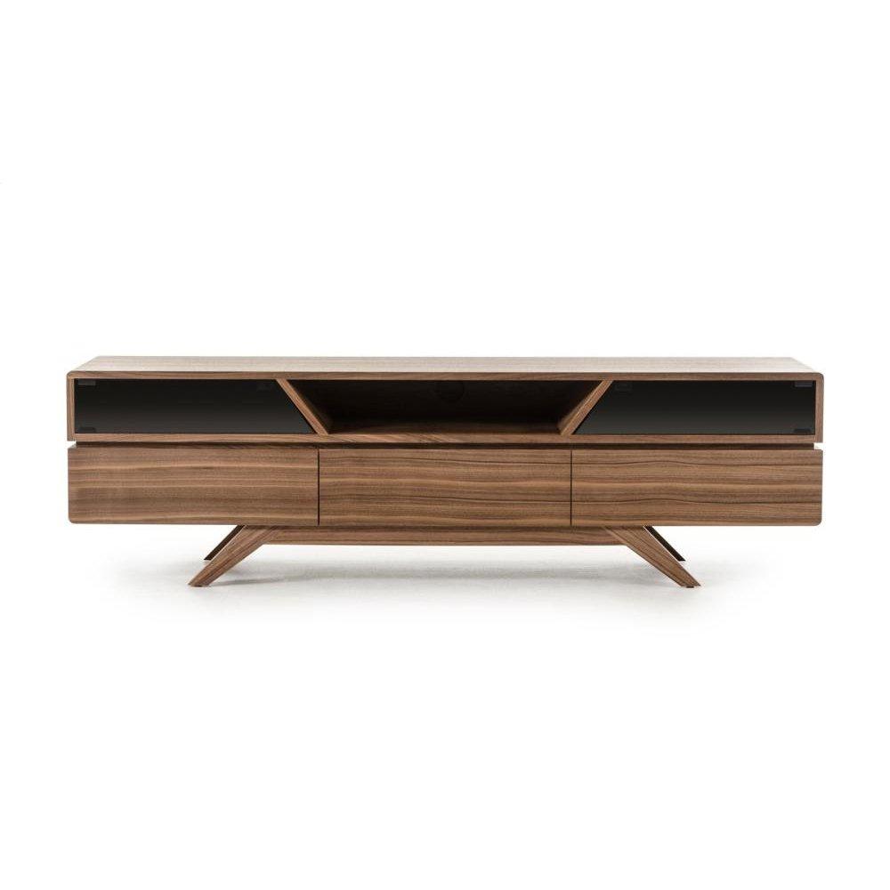 Nova Domus Soria Modern Walnut TV Stand