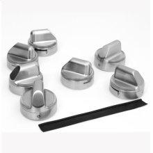 Illuminated Metallic Knobs for Renaissance Gas Ranges