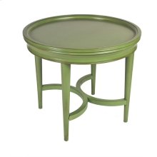 Coastal Large Accent Table- Green