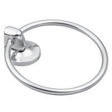 Aspen chrome towel ring
