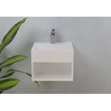 Sanders Resin Wall-Hung Basin - Gloss