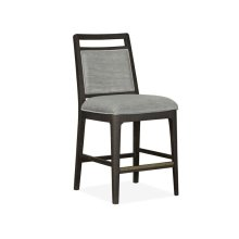 Pub Chair w/Upholstered Seat & Back (2/ctn)