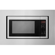 27 in. Trim Kit for Countertop Microwaves - Stainless Steel