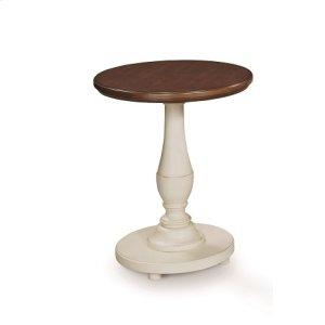 Round Pedestal Accent