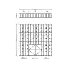 Apex 7' Cedar Wine Rack Kit (IBF-7, IB-B/D-7, IBF-7) - READY TO SHIP