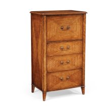 Satinwood chest of drawers vanity unit