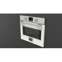 "30"" Pro Single Oven - Glossy White"