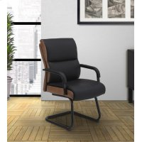 DC#203G-DS - DESK CHAIR Fabric Guest Chair Product Image