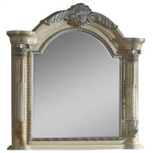 Sienna Antique White Mirror - 50''L x 5''D x 48''H