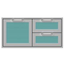 """42"""" Hestan Outdoor Combo Door/Drawer - AGSDR Series - Bora-bora"""