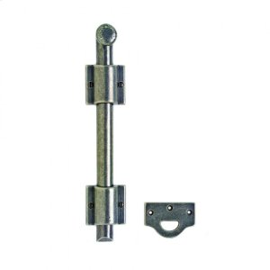 """Surface Bolt with Square Mounting Bracket and 1"""" Bolt - MB2 Silicon Bronze Brushed Product Image"""