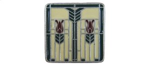 Prairie Tulips - Antique Pewter/Evergreen Product Image