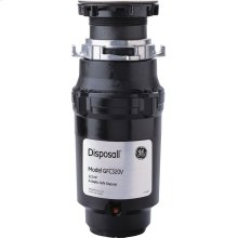 GE1/3 HP Continuous Feed Garbage Disposer Non-Corded