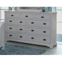Bedroom HH-4270  9 Drawer Dresser