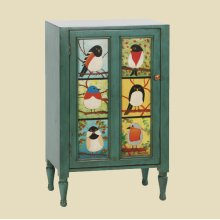 """Pati B"" Bird Cupboard"