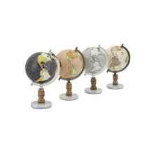 Desk Globes - Ast 4