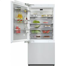 KF 2911 Vi MasterCool fridge-freezer For high-end design and technology on a large scale.