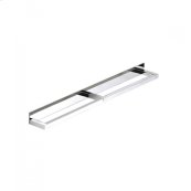 "AS160 - Side by Side Double Towel Bar 24"" - Polished Chrome"