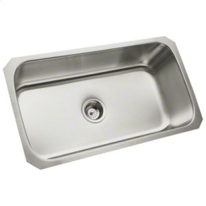 "McAllister® 32"" x 18"" x 9"" Undercounter Single-basin Kitchen Sink Product Image"