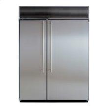 "60"" Built-in Side-by-Side Refrigerator/Freezer"