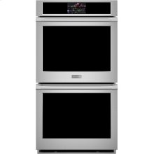 """Monogram 27"""" Smart Electric Convection Double Wall Oven Statement Collection"""