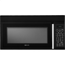 """30"""" Over-the-Range Microwave Oven with Speed-Cook, Black Floating Glass w/Handle"""